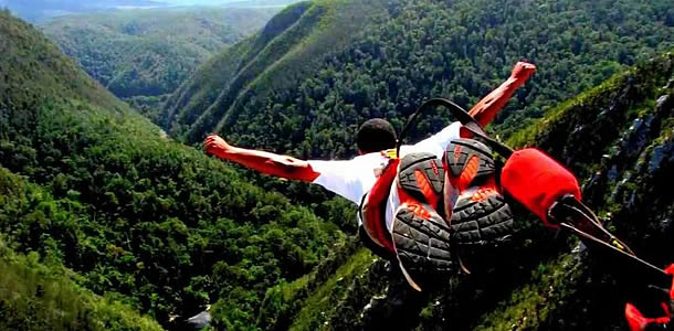 Bungy Jumping in the Garden Route