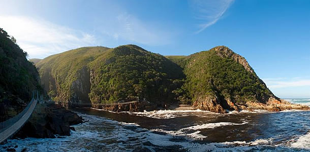 The Garden Route's scenic beauty